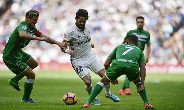 Bóng đá - Leganes vs Real Madrid 03h30, ngày 19/01