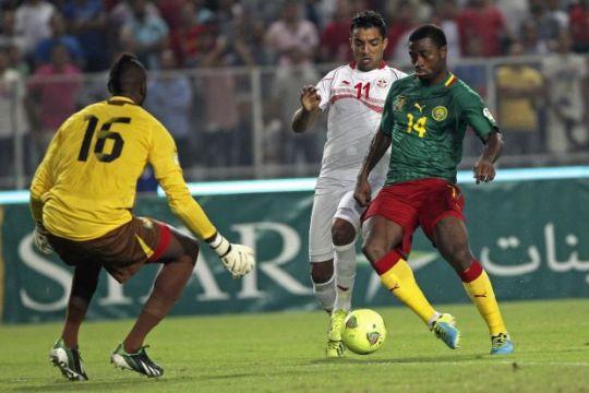 Cameroon 4 - 1 Tunisia (VL World Cup 2014 (Châu Phi) 2011-2013, vòng chung kết)