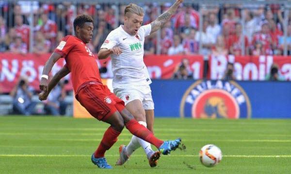 Bóng đá - Bayern Munich vs Augsburg 21h30, ngày 18/11