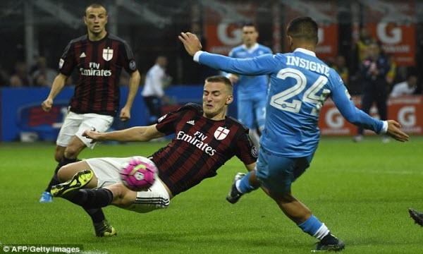 Bóng đá - Napoli vs AC Milan 02h45, ngày 19/11