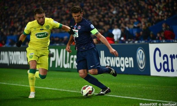 Bóng đá - Paris Saint Germain vs Nantes 22h59, ngày 18/11