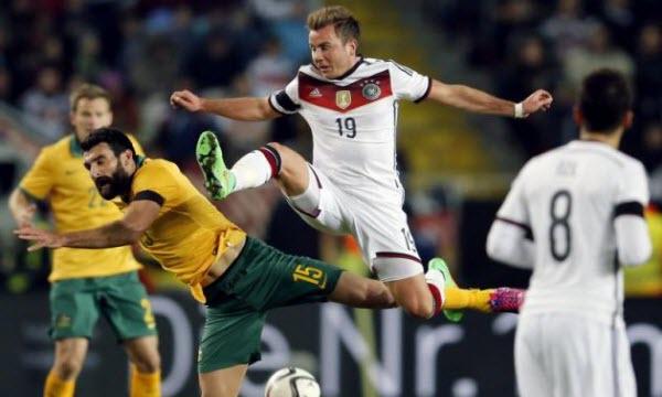Bóng đá - Australia vs Đức 22h00, ngày 19/06