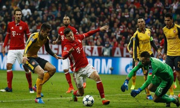 Bóng đá - Bayern Munich vs Arsenal 18h20, ngày 19/07