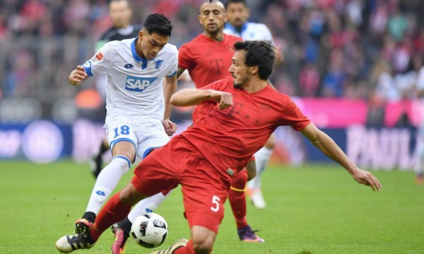 Hoffenheim vs Istanbul Buyuksehir Belediyesi 02h05, ngày 20/10