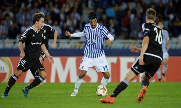 Vardar Skopje vs Real Sociedad 00h00, ngày 20/10