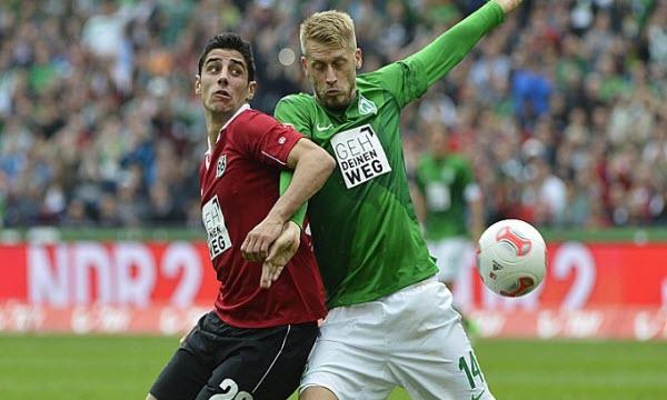 Bóng đá - Werder Bremen vs Hannover 96 00h00, ngày 20/11