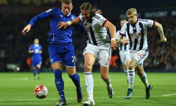 Bóng đá - Everton vs West Bromwich 22h00, ngày 20/01
