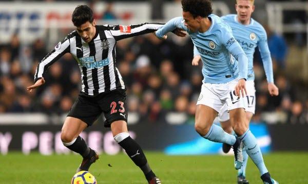 Bóng đá - Manchester City vs Newcastle United 00h30, ngày 21/01