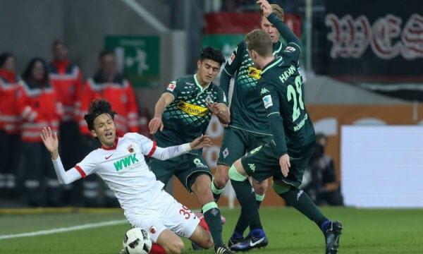 Bóng đá - Monchengladbach vs Augsburg 21h30, ngày 20/01