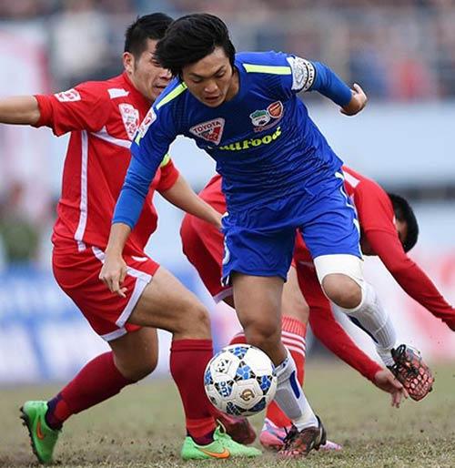 Bóng đá - Vòng 10 V-League: Tranh nhau rớt hạng