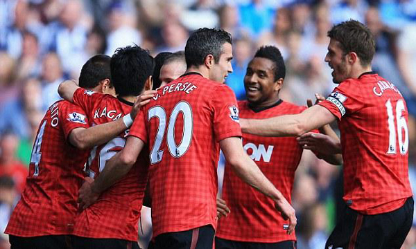 ibongda.vn - West Bromwich 5-5 Man United (Highlights vng 38, gii Ngoi Hng Anh 2012-13)