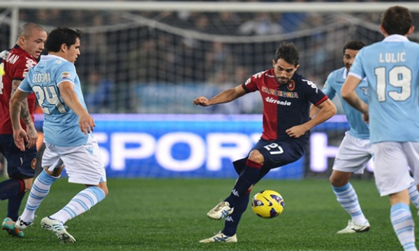 Bng , bng , clip bng  Cagliari 1-0 Lazio (Highlights vng 38, gii VQG Italia 2012-13)