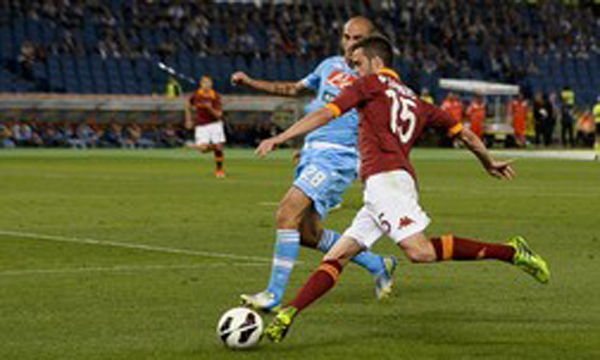 Bng , bng , clip bng  AS Roma 2-1 Napoli (Highlights vng 38, gii VQG Italia 2012-13)