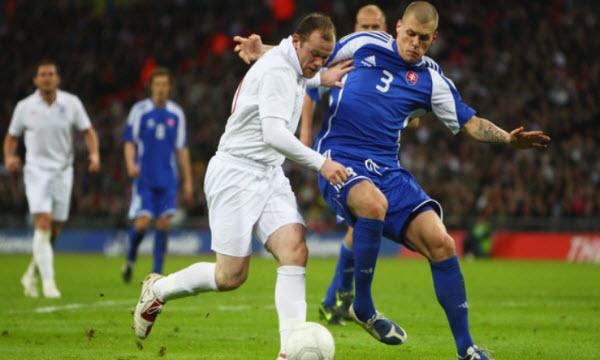 Bóng đá - Thông tin trước trận: Anh vs Slovakia