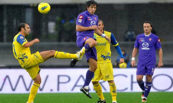 Bóng đá - Chievo vs Fiorentina 00h00, ngày 22/01