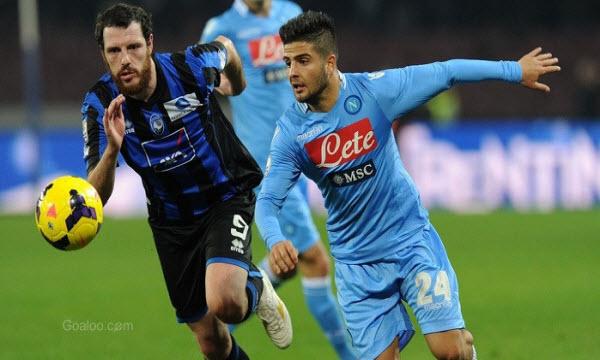 Bóng đá - Atalanta vs Napoli 18h30, ngày 21/01