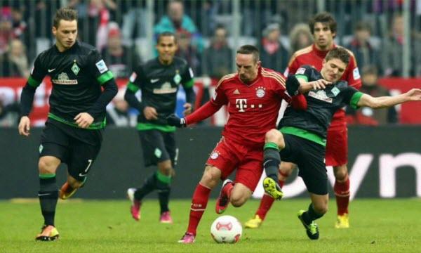 Bóng đá - Bayern Munich vs Werder Bremen 21h30, ngày 21/01