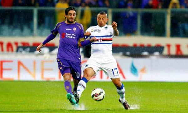 Bóng đá - Sampdoria vs Fiorentina 21h00, ngày 21/01