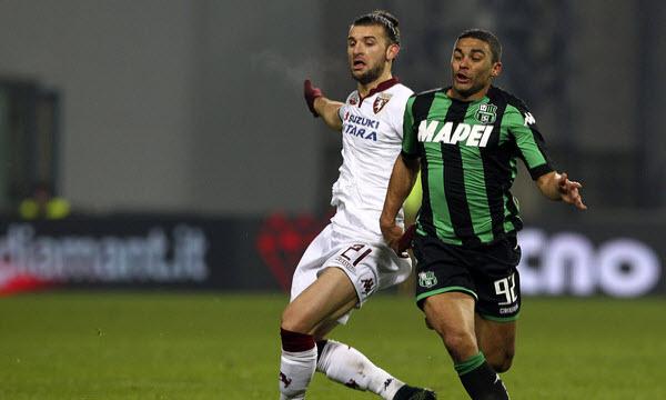 Bóng đá - US Sassuolo Calcio vs Torino 21h00, ngày 21/01