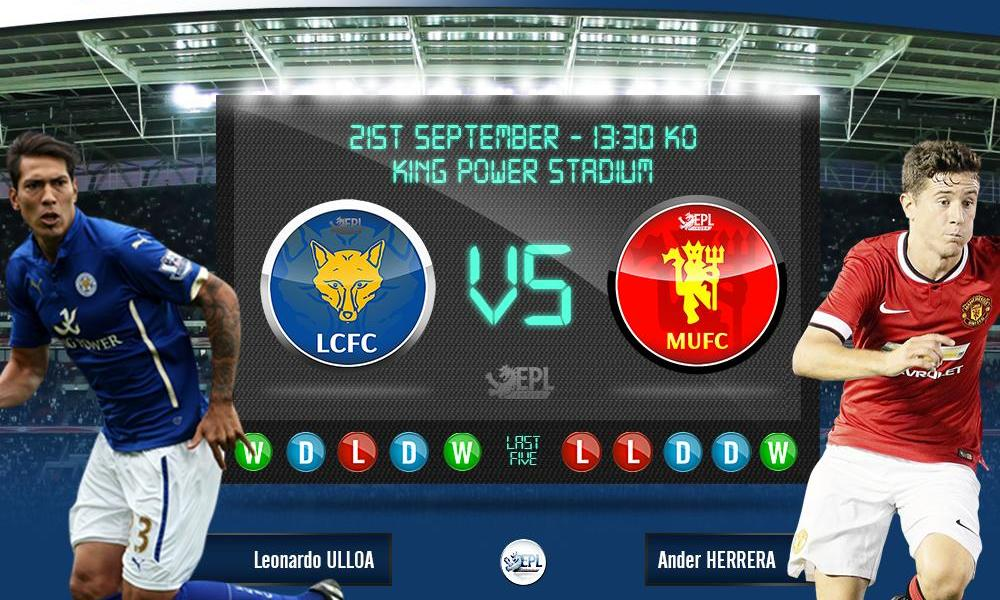 Leicester City vs Manchester United: 19h30, ngày 21/09