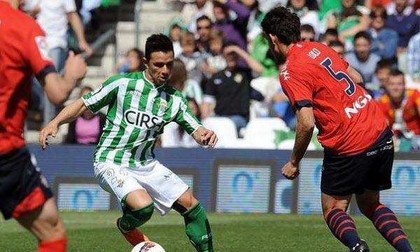 Bóng đá - Osasuna vs Real Betis 01h45, ngày 22/10