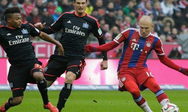 Bóng đá - Hamburger vs Bayern Munich 23h30, ngày 21/10