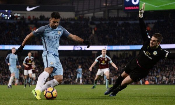 Manchester City vs Burnley 21h00, ngày 21/10