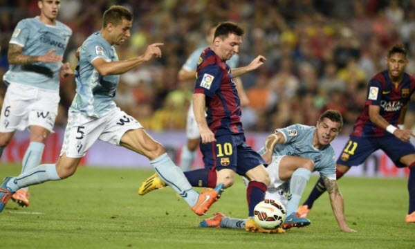 Bóng đá - Eibar vs Barcelona 02h45, ngày 23/01