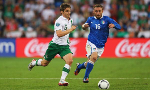 Bóng đá - Thông tin trước trận: Italia vs CH Ireland