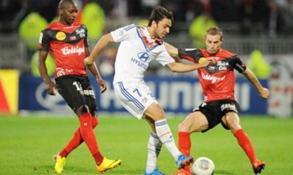 Bóng đá - Lyon vs Guingamp 22h00, ngày 22/10