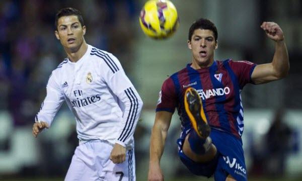 Bóng đá - Real Madrid vs Eibar 01h45, ngày 23/10