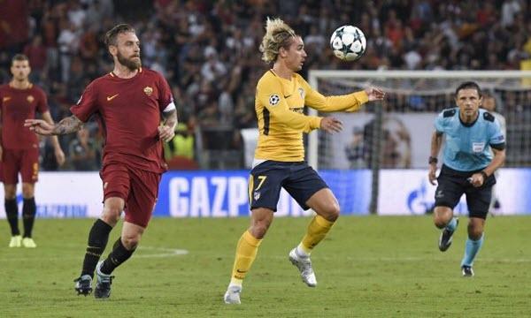 Bóng đá - Atletico Madrid vs AS Roma 02h45, ngày 23/11
