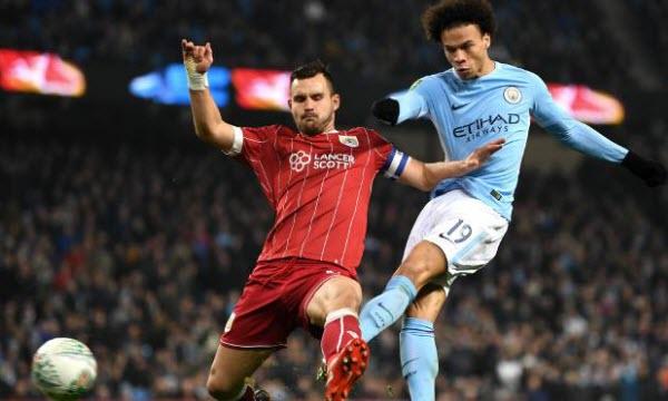 Bóng đá - Bristol City vs Manchester City 02h45, ngày 24/01