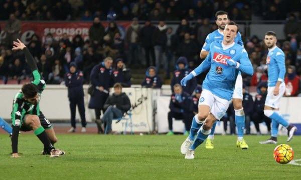 Bóng đá - US Sassuolo Calcio vs Napoli 17h30, ngày 23/04