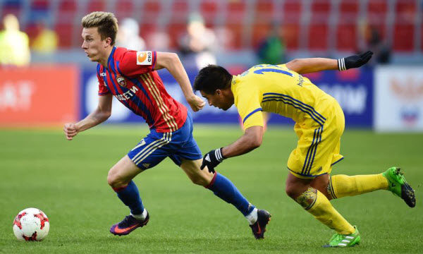 CSKA Moscow vs Young Boys 01h45, ngày 24/08