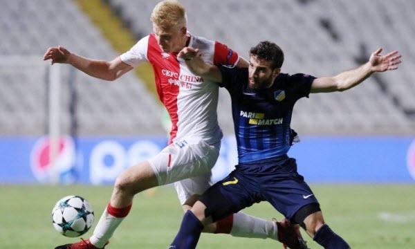 Slavia Praha vs APOEL Nicosia 01h45, ngày 24/08