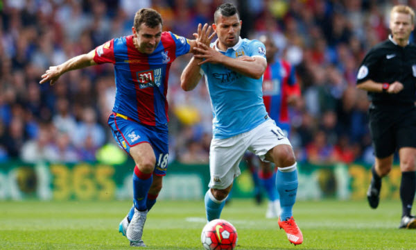Manchester City vs Crystal Palace 21h00, ngày 23/09