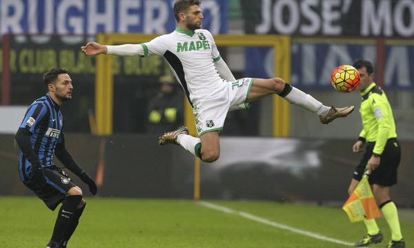 Bóng đá - US Sassuolo Calcio vs Inter Milan 21h00, ngày 23/12