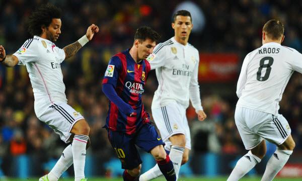 Bóng đá - Real Madrid vs Barcelona 19h00, ngày 23/12