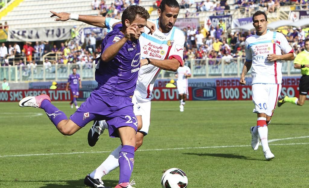 Bóng đá - Fiorentina vs Catania: 01h45, ngày 27/08