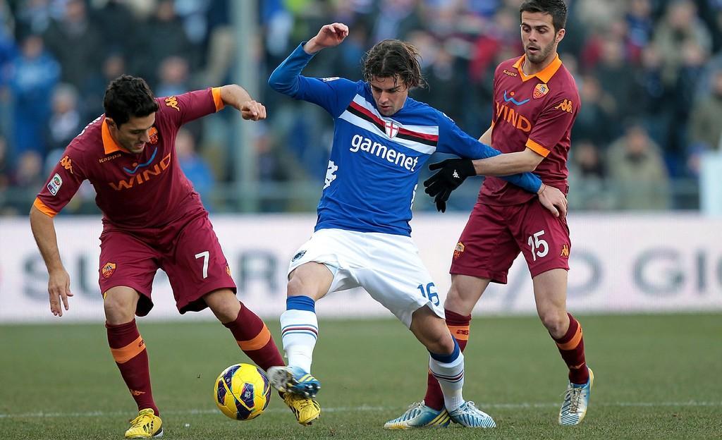 Bóng đá - Sampdoria vs AS Roma: 01h45, ngày 26/09