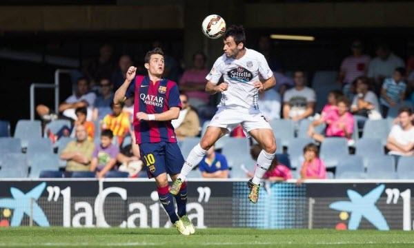 Bóng đá - Barcelona B vs CD Lugo 01h30, ngày 26/09