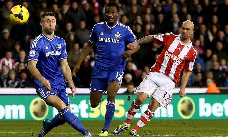 Bóng đá - Chelsea - Stoke, vòng 1/16 FA Cup