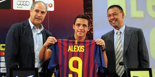 Lễ ra mắt ấn tượng của Alexis Sanchez tại Barcelona