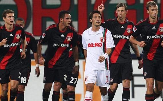 Bóng đá - 01h00 ngày 27-9: Augsburg – Bayer Leverkusen