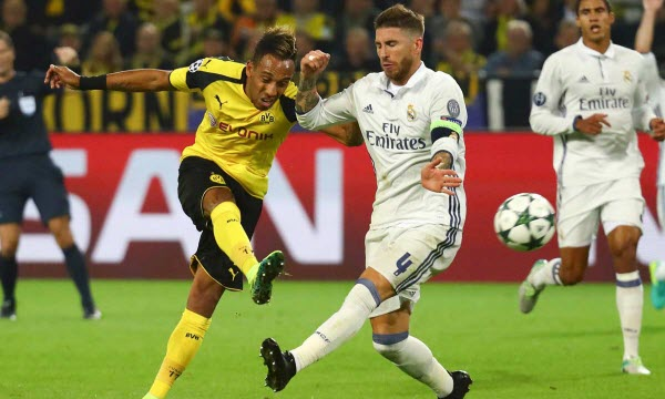 Borussia Dortmund vs Real Madrid 01h45, ngày 27/09