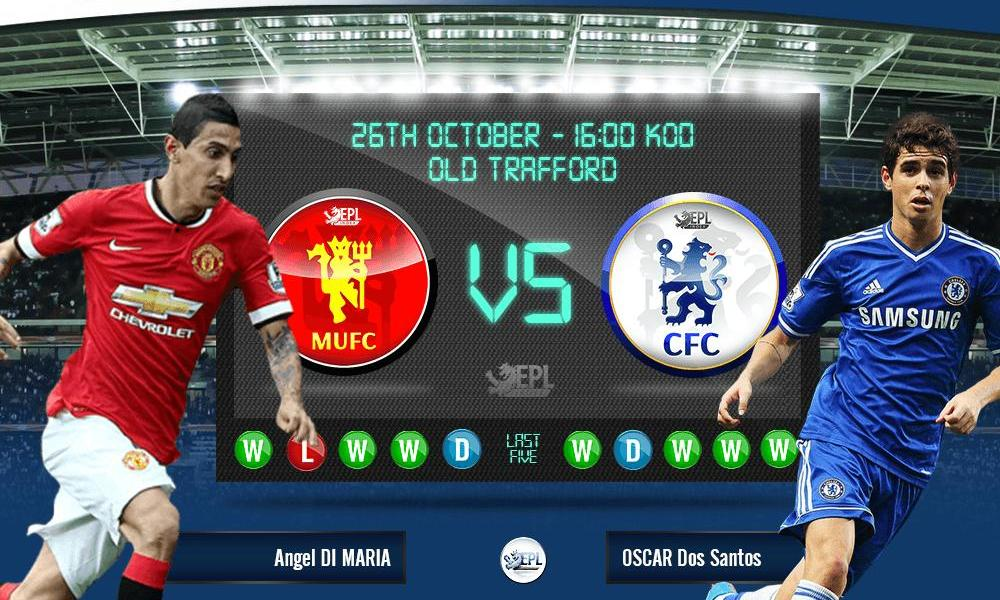 Manchester United vs Chelsea 22h59, ngày 26/10