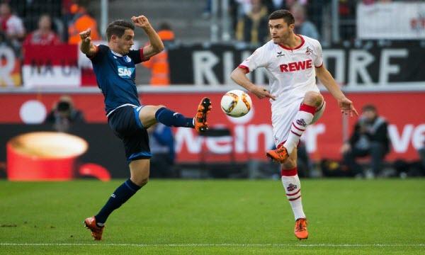 Bóng đá - Koln vs Hoffenheim 01h45, ngày 27/10