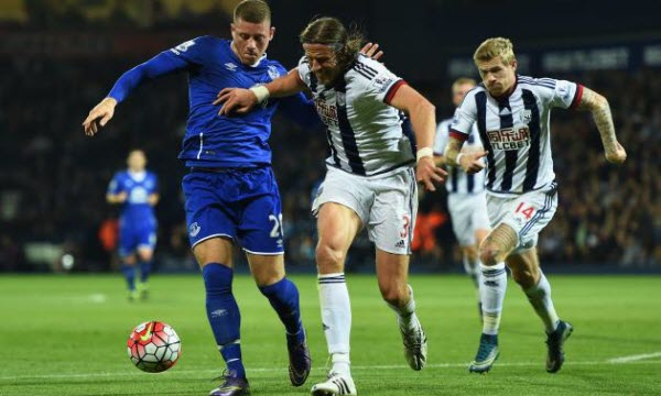 Bóng đá - West Bromwich vs Everton 22h00, ngày 26/12