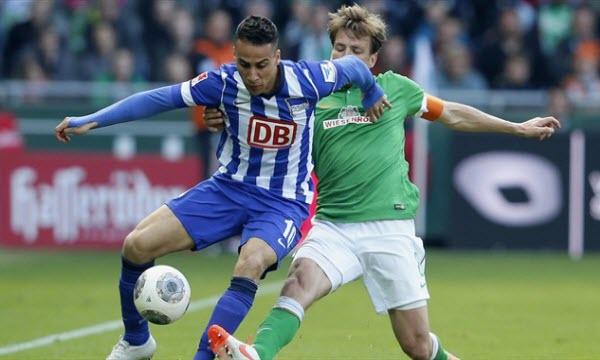 Bóng đá - Werder Bremen vs Hertha Berlin 00h30, ngày 28/01